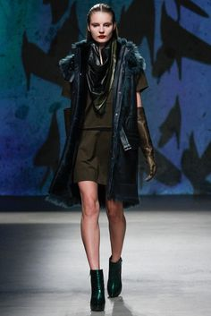 Kenneth Cole Collection Fall 2013 Ready-to-Wear Fashion Show - Tilda Lindstam
