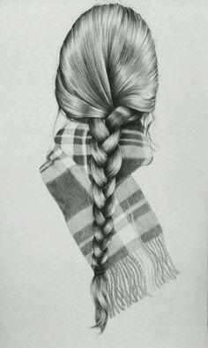 haar tekenen Posta - Dalya Cohen - Out - haar Amazing Drawings, Cool Art Drawings, Pencil Art Drawings, Beautiful Drawings, Art Drawings Sketches, Amazing Art, Hair Drawings, Drawing Hair, Drawing Ideas