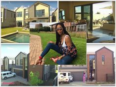 The Inside-out of Bonang Matheba's new house - NaijaDome Video Film, Inside Out, Two By Two, New Homes, Deck, Celebs, House Design, Houses, Fashion