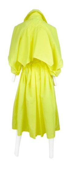 Vivienne Westwood Neon Nylon Trench coat @ Resurrection Vintage