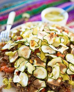 Courgette nacho's - In Love With Health