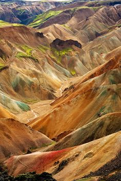 Painted Mountains by Martin Larsson ~ Iceland