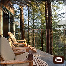 I want to live in a tree house :) Big Sur Resorts | Post Ranch Inn - Tree House | Luxury Resorts in California