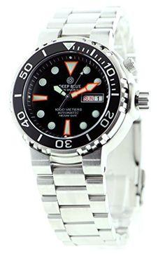 Sun Diver 3 - Black Deep Blue Watches http://www.amazon.com/dp/B00O17TOOQ/ref=cm_sw_r_pi_dp_gWaQub0NAM51P