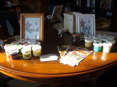 scentsy party setup frames for each category of scents