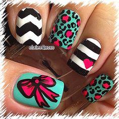 elaineqxoxo #nail #nails #nailart