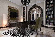 Designer, Oversized Mirror, Vanity, Furniture, Home Decor, Wall, Dressing Tables, Powder Room, Decoration Home