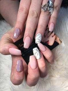Pink Nude nails and Holographic chrome with marble design in coffin shape Eid bookings open. Book now to save your time. We locate at Bradford city centre, right at Wilko (John Street), Fultons, Boyes. Parking spaces around. ✨Walk-ins and appointment both are welcome. ☎️07475999999 for prompt response any enquiries.