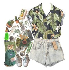 """""""Sunny Afternoon"""" by orange-sunshine ❤ liked on Polyvore featuring Golden Goose, Topshop, Shandell's and Chanel"""