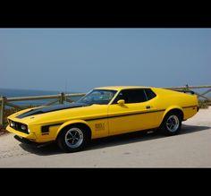 Mach 1 Mustang #Cars #Speed #HotRod