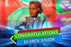 DJ Arch Jnr Wins SA's Got Talent!   El Broide The Dj, Reality Tv, The Incredibles, Celebs, Entertaining, Funny, Search, Celebrities, Searching