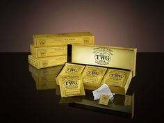 This is the most beautiful tea I've ever tasted: Vanilla Bourbon Tea from TWG  Red tea from South Africa blended with sweet TWG Tea vanilla. Enveloping, this theine-free tea can be served warm or iced at any time of the day, and is perfect for children as well.  15 x 2.5g Teabags