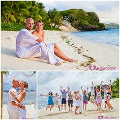 Fiji destination wedding images from Fiji Weddings