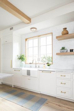 Natural Stone and Neutral Textures in Brooke Wagner's New Home   Rue