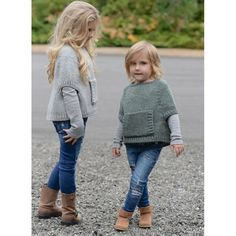 Odila Cape Pullover Knitting pattern by The Velvet Acorn Baby Knitting Patterns, Knitting For Kids, Knitting Projects, Crochet Patterns, Diy Tricot Crochet, Crochet Baby, Crochet Top, Velvet Acorn, Baby Sweaters