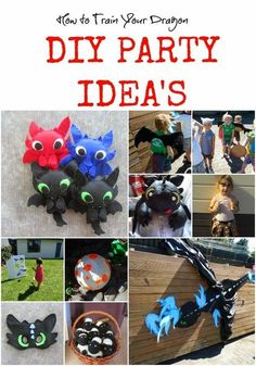 Knot Your Nana's Crochet: How to Train Your Dragon Party Idea's:
