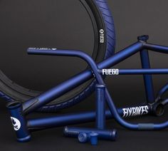 Flybikes - 2017 Dark Blue Fuego Colorway DETAILS: http://bmxunion.com/daily/flybikes-dark-blue-fuego-colorway/ #BMX #flybikes #bike #bicycle #2017 #blue #style #design