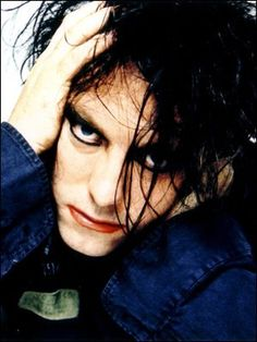 Robert Smith of the Cure.  So beautiful.