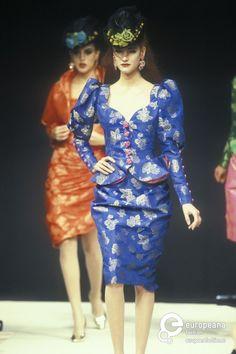 Emanuel Ungaro, Spring-Summer 1992, Couture on www.europeanafashion.eu