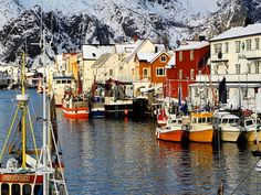 Henningsvaer, North Norway