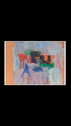 Philip Guston - Spring I, 1958 - Oil on board laid down on masonite - 55,9 x76,2 cm (..)