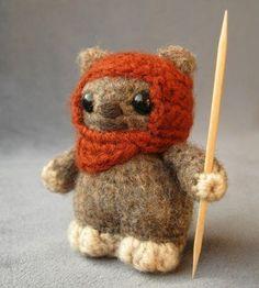 knitted ewok