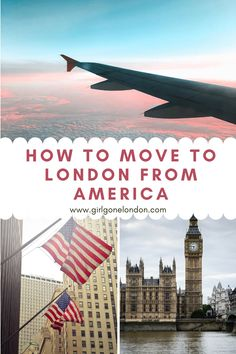 For anyone wondering how to move from America to London or how to move from America to England to follow your dreams, here are some things you really need to know. Moving To England, Travel England, Best Countries In Europe, England Beaches, Holidays In England, Visit Uk, London Night, London Attractions, Maldives Travel