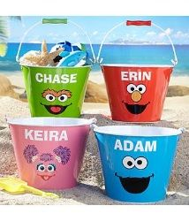 Need a unique gift? Send Big Face Sesame Street Tin Pails and other personalized gifts at Personal Creations. Sesame Street Party, Sesame Street Birthday, Elmo Birthday, 2nd Birthday Parties, Birthday Ideas, Tin Pails, Easter Buckets, Elmo Party, Easter Crafts