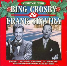 Vintage Christmas Record Album ~ Christmas With Bing Crosby & Frank Sinatra
