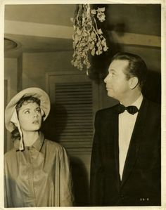 "Dick Powell & Debbie Reynolds in ""Susan Slept Here"""