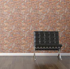 Brick Wall Removable Wallpaper.