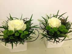 Flowers by Jan Park at Blue - perfect for table centrepieces.