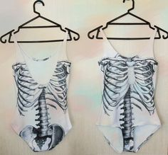 skeleton swimsuit Skeleton Bodysuit, Black Milk, Black White, Skulls,  Skeletons, Ribs f07d907ba2d