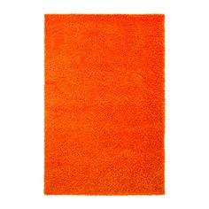 HAMPEN Tapis, poil long IKEA Tapis de fibres syntétiques facile d'entretien, résistant et antitaches.