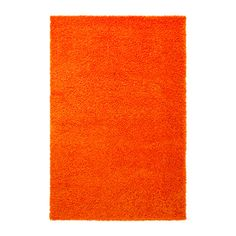 HAMPEN Rug, high pile, orange orange 133x195 cm