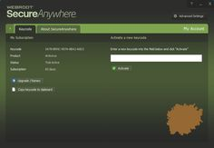 Webroot SecureAnywhere Antivirus Key 2015 is the powerful light weight antivirus for the maximum protection of the computer with cloud based definition updates. Security Solutions, Cloud Based, Software, Key, Internet, Unique Key, Keys