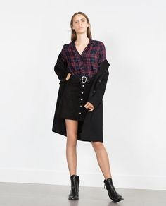 Image 1 of CHECK SHIRT from Zara