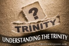 We have trouble understanding the Trinity, but these object lessons for Sunday school, using salt, flour and water as the ingredients should make it clear.