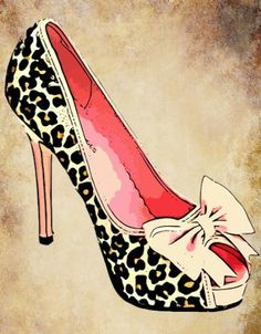 sexy Graphic Arts | ... high heel shoe Digital clip art png file digital graphics download