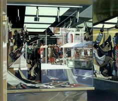 Richard Estes, Clothing Store (1976), via Artsy.net