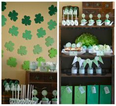 Ombre St. Patrick's Day party