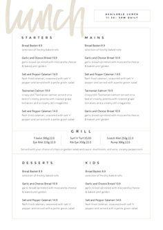 Restaurant Menu Templates - Easil - Easil - -Customizable Restaurant Menu Templates - Easil - Easil - - Foil-Pressed Menus by Minted Restaurant Menu Template, Restaurant Menu Design, Restaurant Branding, Hotel Menu, Bakery Menu, Online Restaurant, Restaurant Restaurant, Cafe Menu Design, Food Menu Design