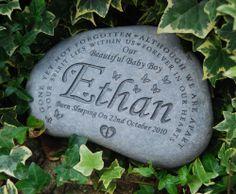 Memorial headstone garden memorial personalised grave memorial stones