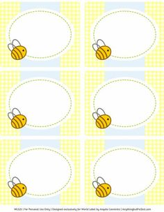 Baby Shower Ideas Bumble Bee Free Printables 28 Ideas For 2019 Baby Shower Labels, Free Baby Shower Printables, Baby Shower Themes, Baby Boy Shower, Shower Ideas, Shower Set, Shower Games, Party Printables, Free Printables