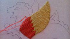 Bayeaux stitch how-to