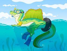 Spinosaurus, Grinch, Art, Art Background, Kunst, Performing Arts, Art Education Resources, Artworks