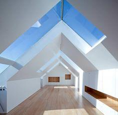 Fonte da Luz Housing - Oporto Residential Building - e-architect Residential Architecture, Interior Architecture, Roof Design, House Design, Design Design, Loft Spaces, Open Spaces, Loft Apartments, Interior Design Inspiration