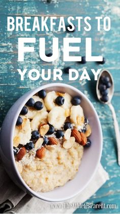 Power Packed Breakfast ideas provided by a Registered Dietitian. Fuel your Day!