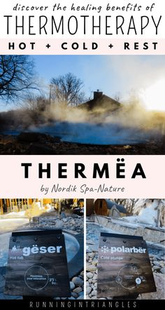 Thermëa by Nordik Spa-Nature is a thermotherapy spa in Winnipeg, Manitoba, Canada that offers amazing health benefits for moms.  Learn more about how thermotherapy works and how to get the most of your visit to a thermotherapy spa.  #selfcare #selfcareformoms #spa #ScandinavianSpa #NatureSpa #ThermalTherapy #HeatTherapy