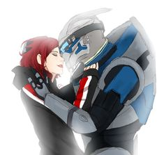 No Shepard Without Vakarian by LEM0NAD3